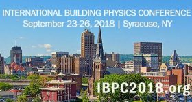 Presentation of LightLearn at The International Building Physics Conference (IBPC)